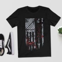 Hunting Shirt with American Flag, Bow Hunting T-shirt, American Hunter S... - $35.99+