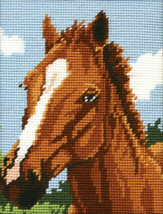 Chestnut Horse Tapestry starter Kit from Anchor MR929 - $28.71