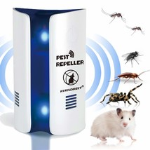 Ultrasonic Pest Repeller Electronic Pest Repellent Plug In Pest Control ... - $6.52