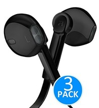 Headphones - In-Ear HD Stereo Noise Cancelling Sweatproof Sport Earphones Earbud