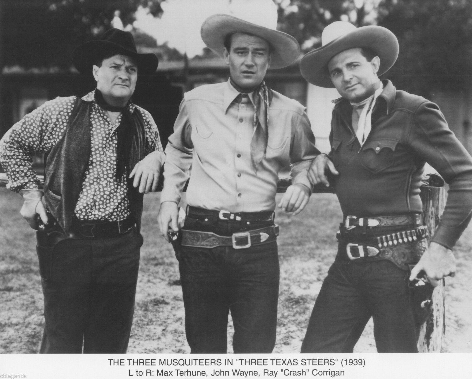 USA NEW John Wayne A Ray Corrigan Three Texas Steers Movie POSTER 27 x 40