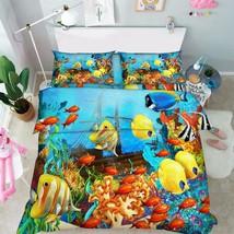 3D Magic Ocean 1 Bed Pillowcases Quilt Duvet Cover Set Single Queen King... - $64.32+