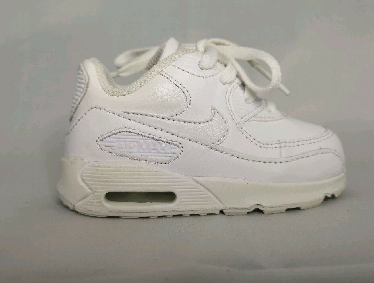 Kids Baby Nike Air Max 90 White Shoes Size 4C Toddler