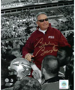 Bobby Bowden signed Florida State Seminoles 16x20 Photo Final Game Carry... - $47.95