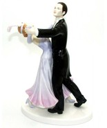 Royal Doulton The Fox Trot Dance Couple Figurine HN5445 Ltd Edition New Boxed - $309.90