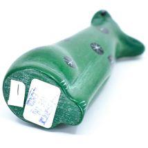 Tabaka Chigware Hand Carved Kisii Soapstone Green Puppy Dog Figurine Kenya image 5