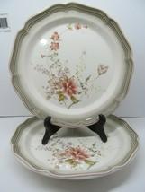 "Mikasa Country Estate Autumn Vale 10 3/4"" Dinner Plates Set Of 2 Plates - $28.42"