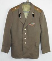 Major Daily Russian Soviet Army Military Uniform  Military Jacket Blazer... - $16.83