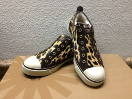 UGG LAELA EXOTIC CHEETAH SNEAKERS US 6.5 / EU 37.5 / UK 5 - NIB - $74.79