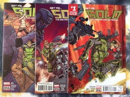 SOLO #1, 2, 3 (as seen in Deadpool) - Marvel Comics book - NM - $5.88