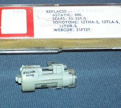 ASTATIC 759 PHONOGRAPH CARTRIDGE NEEDLE for Sonotone 12THA-S 12TLA-S Sears image 2