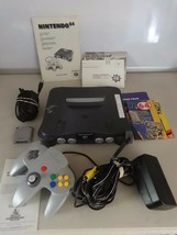 FULLY TESTED Nintendo 64 N64 Console System W/ Cont Memory Pack, AV & Po... - $114.83