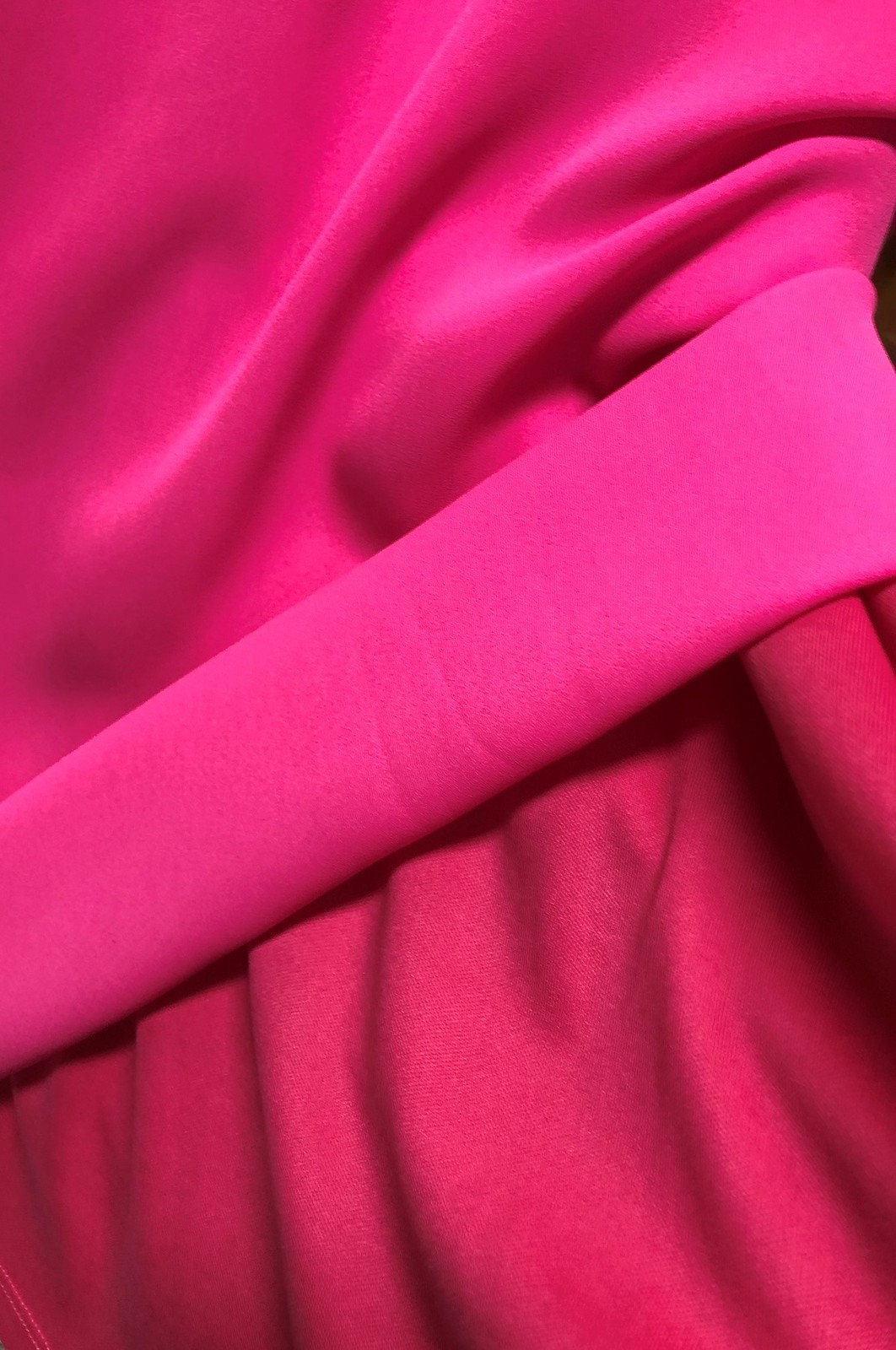 The Impeccable Pig Hot Pink Choker Dress Sleeveless Lined Sz L image 7