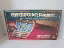 VTG 1978 IDEAL TOY #2719-3 CHECKPOINT: DANGER!  SEARCH GAME COMPLETE  - $18.57