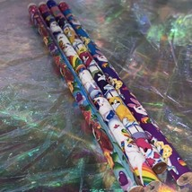 8x Assorted Vintage Lisa Frank Pencils Unsharpened 80s 90s Era Retro Throwback image 1