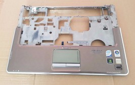 HP dv5 1179je laptop TOP cover w/ touch pad finger Genuine notebook palmrest OEM - $43.99