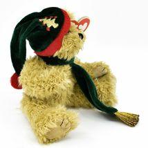 1993 Ty Attic Treasures Spruce Holiday Christmas Teddy Bear Beanbag Plush Toy image 4