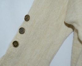 Simply Noelle Brand JCKT222SM Womens Pearl Zipper Knit Sweater Jacket Size SM image 2