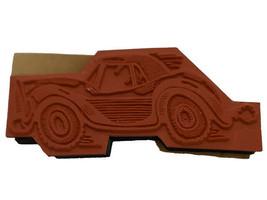 A La Art Stamp Crafters Roadster Rubber Stamp #B20-004U image 2