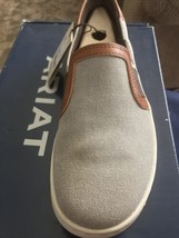 Ariat 245814 Womens Ryder Casual Slip-On Shoes Classic Canvas Size 7.5 B Medium - $74.24