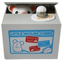 Resulzon Stealing Coin Mouse Box – Piggy Bank – Mouse – English Speaking... - $15.23