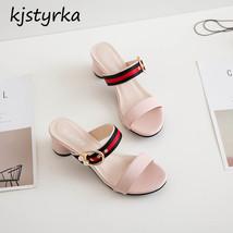 Fashion casual Quality Kjstyrka High Comfortable toe sandalias mujer 2018 peep RBqw6Tv