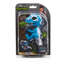 Untamed T-Rex by Fingerlings - Ironjaw (Blue)Wow Wee Collectible Dinosau... - $19.75