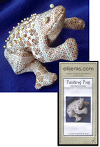 Fauntleroy Frog Ombre Blackwork Beanie Pattern - $13.50