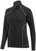 Medium Louis Garneau Women's Training Top Drytex 6000 Cycling Shirt Black