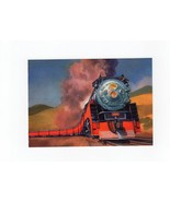 USPS POSTAL CARD FAMOUS TRAINS THE DAYLIGHT FROM THE UNION PACIFIC RAILROAD - ₨160.36 INR