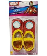 Rubie's Marvel Avengers IRON MAN Costume Glitter Child Flat Shoes (Sizes... - $14.84
