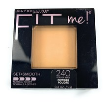 Maybelline Fit Me! Pressed Powder 240 Golden Beige Set + Smooth Normal t... - $9.29