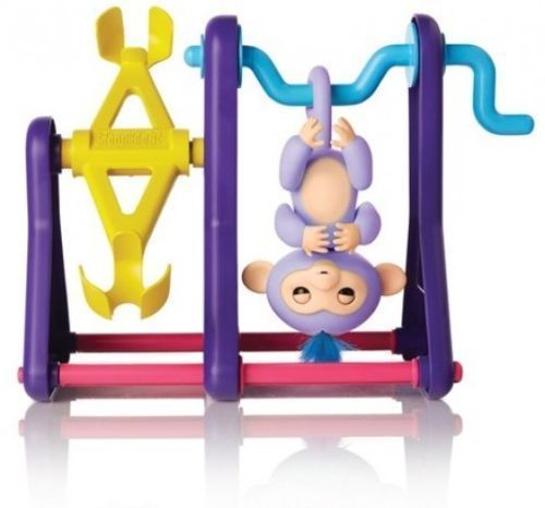 Fingerlings See Saw Play Set with 2 Monkeys