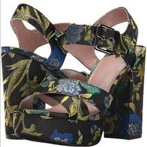 Circus Sam Edelman Women Heels Maria Floral Straps MultiColor Mettalic all sizes - $29.95