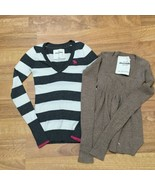 2 Abercrombie and Fitch Kids Sweaters Girls Small  - $14.99