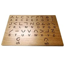 Moon Language Key Panel - Translation Key to Use in Escape Rooms and Assist in L