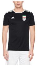 2018/2019 Iran-Team Melli Original Top Training Jersey,Black  ,Size:Large - $44.99