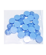25ct 12mm Imitation Turquoise Cabs  - $11.99
