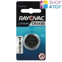 Rayovac CR2430 Lithium Battery 3V Cell Coin Button Watch Exp 2026 285mAh New - $3.16