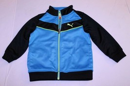 Infant/Baby Puma 18 Months Athletic Jacket (Light Blue/Bright Yellowish Green/Bl - $9.49