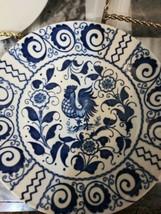 Johnson Brothers China CHANTICLEER Blue Saucers - Set of Twelve - $22.72