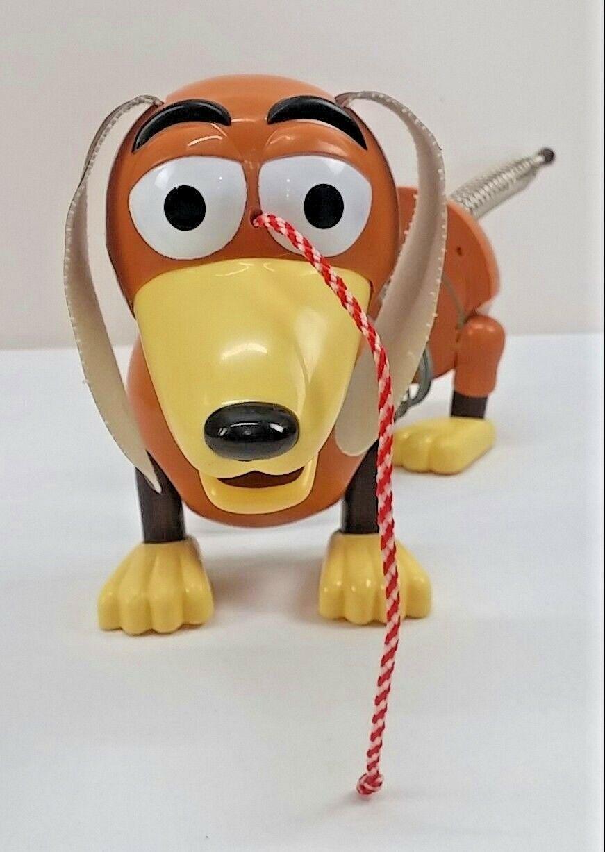 Disney Pixar Toy Story Slinky Zig Zag Dog Vintage Pull Toy Figure Vintage 1999