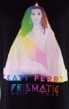 KATY PERRY Prismatic World Tour  t-shirt black ~ XS - $12.82