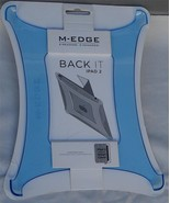 M-Edge Back It Back Case for iPad 2 - Works with Smart Cover - Blue - NEW - $14.84