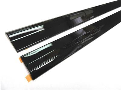 OEM Lexus Toyota Front & Rear Door Trim Molding 4pc RH LH Set Obsidian Black