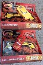 2 New Disney Pixar Cars 3 Crazy 8 Crashers, Lightning McQueen & Cruz Ram... - $10.88