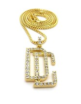 0.45 Cts CZ Dia Men's Dream Chaser Pendant Necklace 14k Yellow Gold FN &... - $89.09