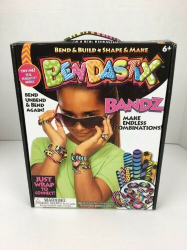 Primary image for Bendastix Bandz Bend Build Shape Make Jewelry Craft Kit Reusable Hearts Peace