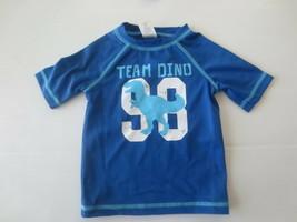 Gymboree Boy Team Dino Graphic Swim Shirt - Size 6-12 Months -  NWT - $5.99