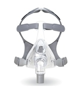 Medium Fisher Paykel Simplus Full Face CPAP Mask With Headgear 400476 Co... - $85.00